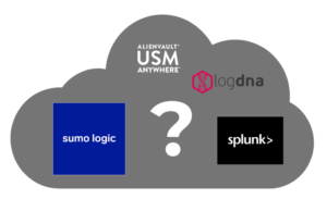 Image of cloud containing multiple logging services